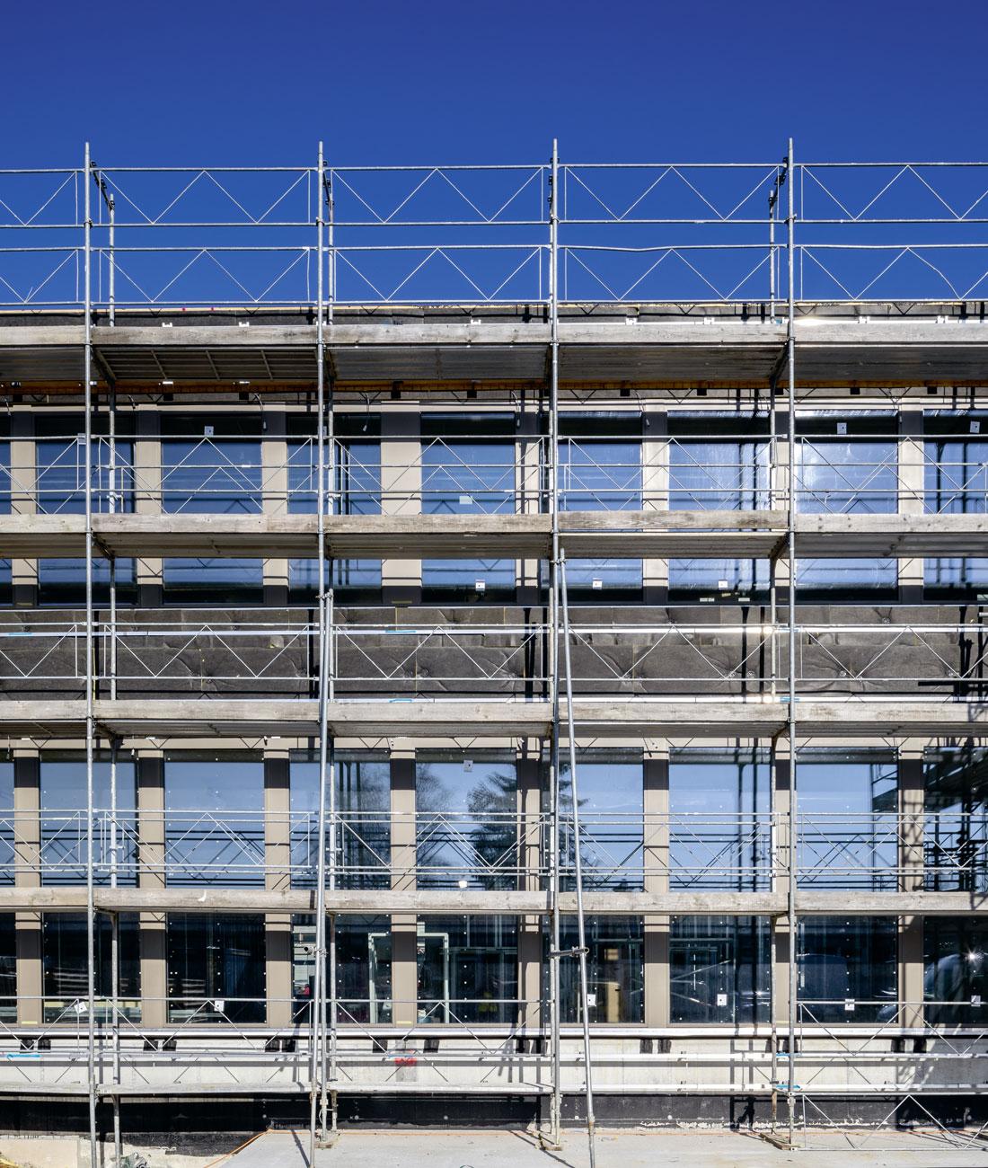 Baustellenbild Espace Campus